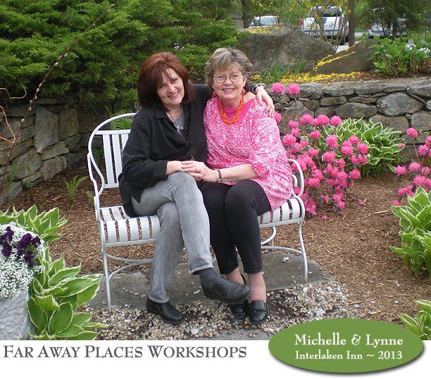The teaching team - Michelle Ward and Lynne Perrella