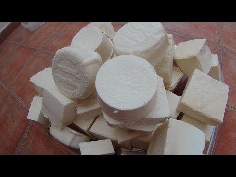 ▶ Jabón casero para ducha y tocador, paso a paso. Dermatitis. - YouTube