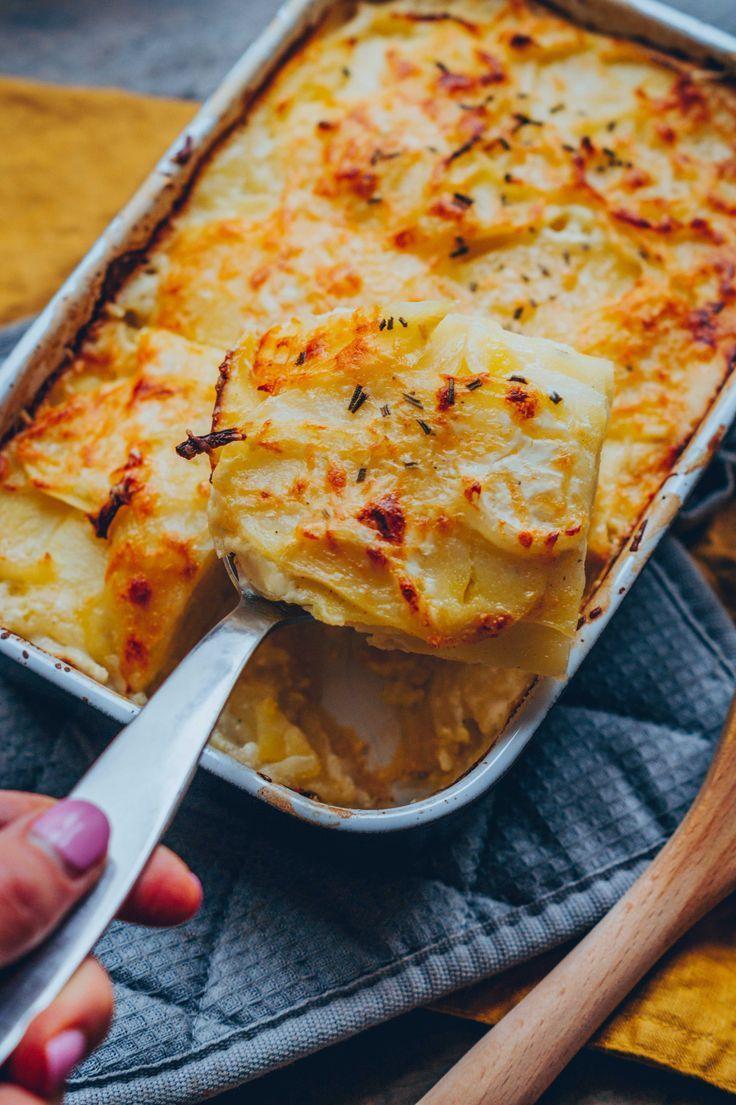 Mar 20, 2020 – Klassisches Kartoffel-Gratin (vegan) – Klara`s Life