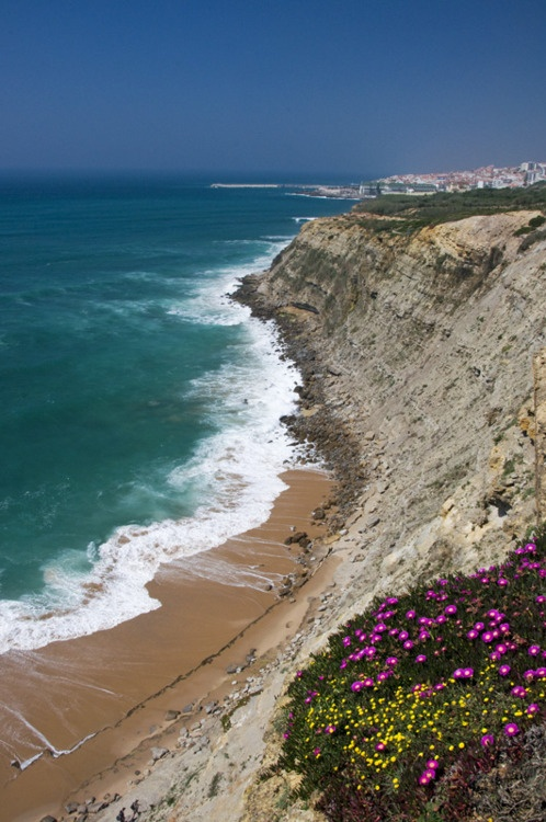 Atlantic Ocean.. amazing natural landscapes and pure bliss in Ericeira, Portugal