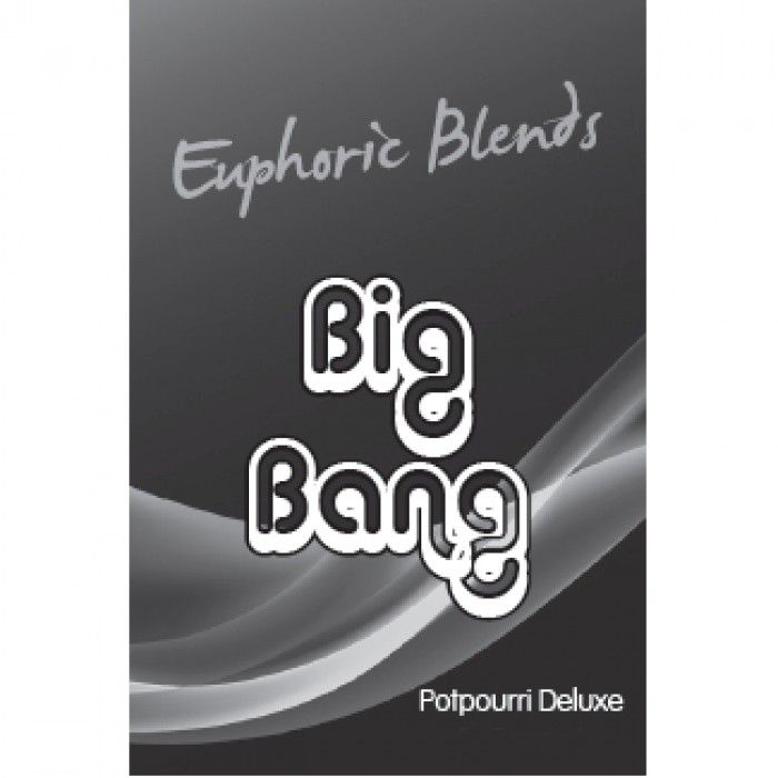 Euphoric Blends BIG BANG™ (3 gram) Organic Herbal Vaporizer Aromatherapy Mix