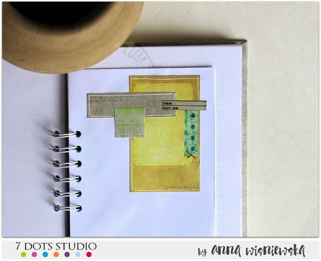 Birthday card with a diary - 7 Dots Studio