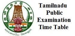 Tamil Nadu SSLC Date sheet 2017, TNBSE 10th Time able 2017 Download, Students…