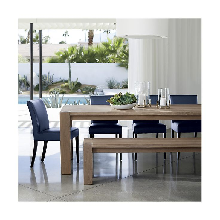 17 Best Ideas About Dining Table Bench On Pinterest: 17 Best Ideas About Narrow Dining Tables On Pinterest
