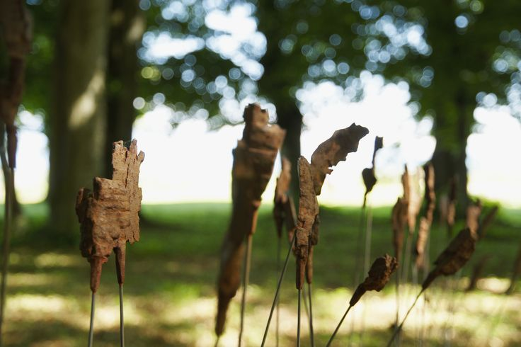 """Sculpture """"Les Fleurs du Mal"""" de Etienne Krähenbühl"""