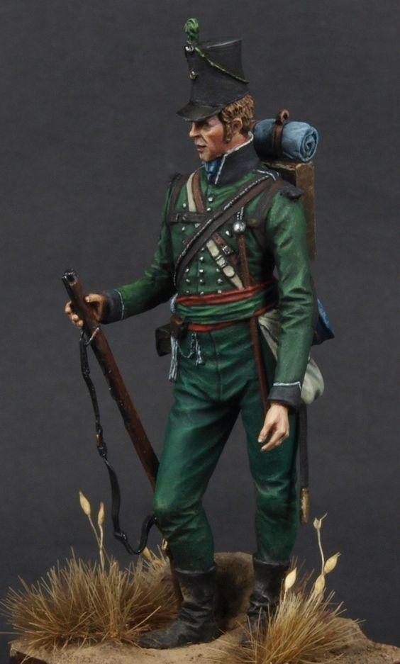 Sgt. Rifle Bgde 95th Rgt of Foot Coruna 1809: