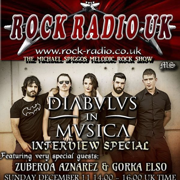 "Check out ""The Michael Spiggos Melodic Rock Show feat.Zuberoa Aznarez&Gorka Elso(Diabulus In Musica) 11.12.2016"" by Michael Spiggos on Mixcloud"
