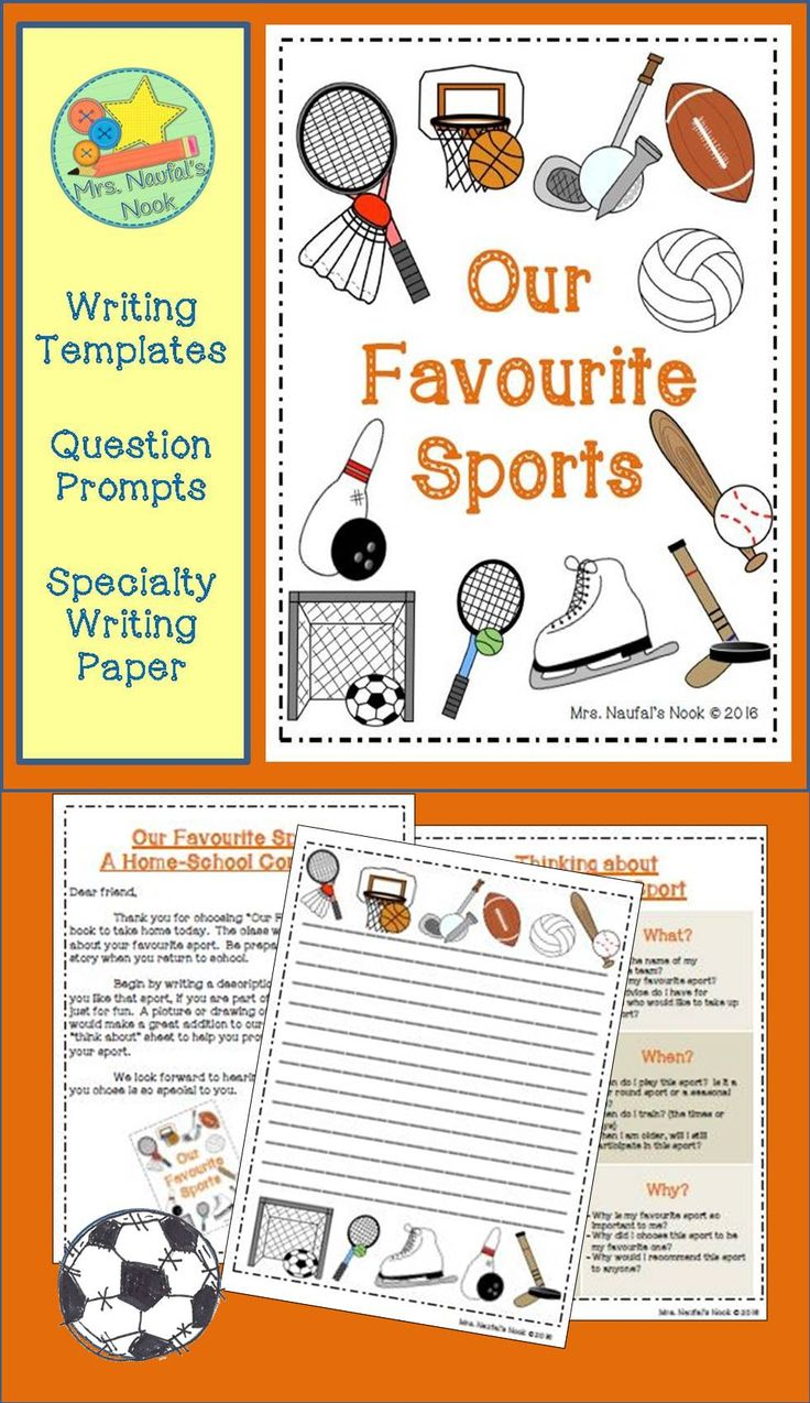 Sports   Video Game Themed Writing Prompts  Engage Reluctant     Pinterest