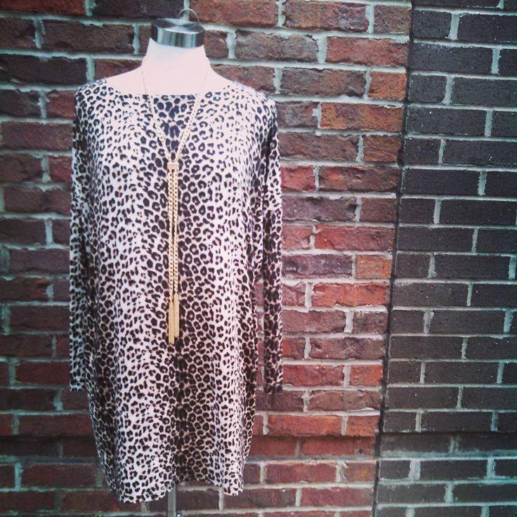 Love this feisty cheetah dress from Cherish. #throwonandgo #sassy #sexy #shophouseofsage www.houseofsage.com www.facebook.com/shophouseofsage http://house-of-sage.shoptiques.com