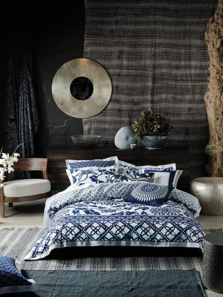 Alex Perry x Linen House - Han quilt cover set and accessories. Dream bedroom!