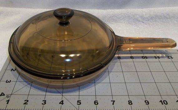 Vintage Visionware Waffle Bottom Saute Skillet