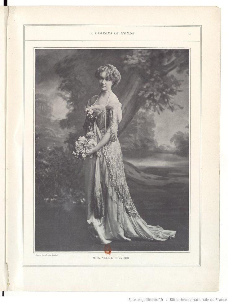 Miss Nellie Seymour  Les Modes : revue mensuelle illustrée des Arts décoratifs appliqués à la femme | 1901-01 | Gallica