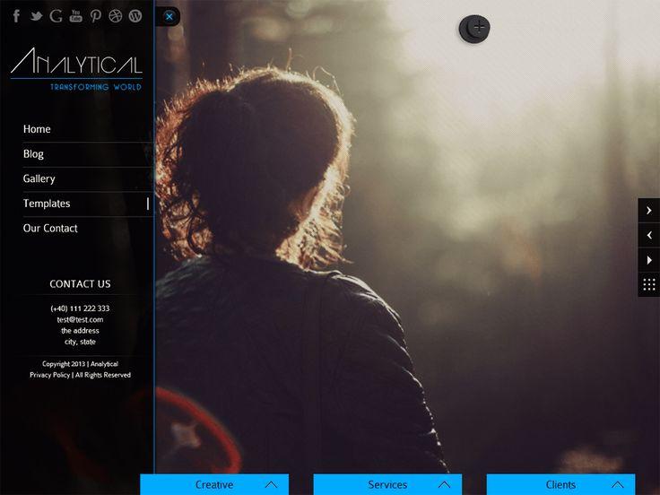 WordPress › Analytical Lite « Free WordPress Themes