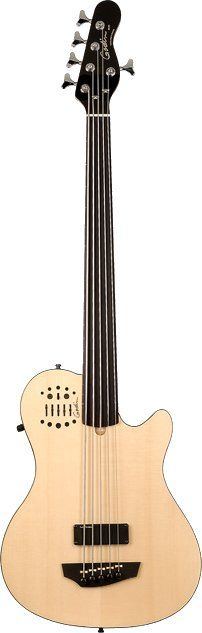 Godin A5 ULTRA Natural SG Fretless EN SA