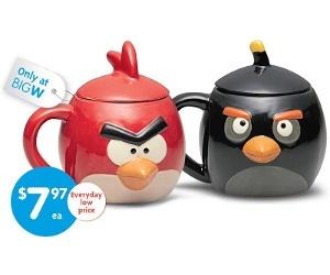 Angry Birds Coffee Cups