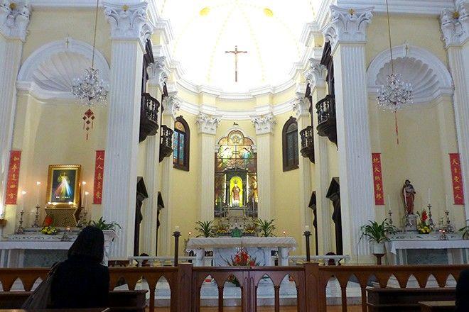マカオで最も古い教会の一つ「聖ローレンス教会」 ▼14Aug2015オリコン|近い! 旨い! 新しい! 東洋と西洋、新旧とが交じり合うマカオへいますぐ行きたい! http://www.oricon.co.jp/special/48179/?cat_id=macau_0814 #Macau #澳門 #澳门 #聖老楞佐教堂 #Igreja_de_São_Lourenço #Igreja_de_Sao_Lourenco