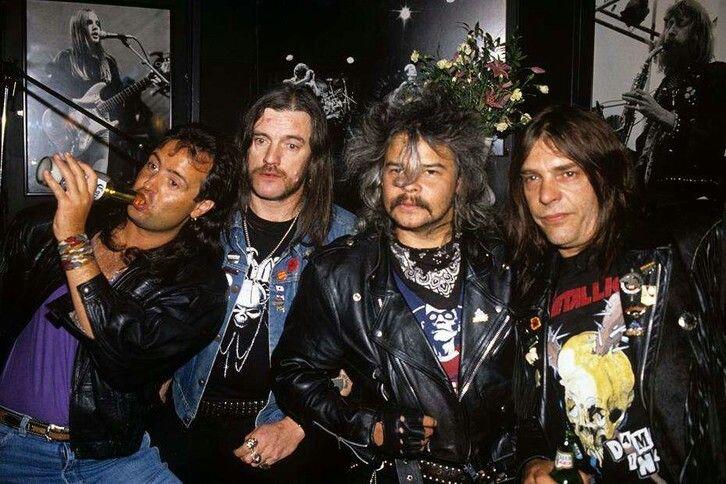 Phil Campbell/Lemmy Kilmister/Phil Taylor/Wurzel