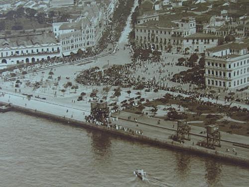 Praça Mauá – 1922