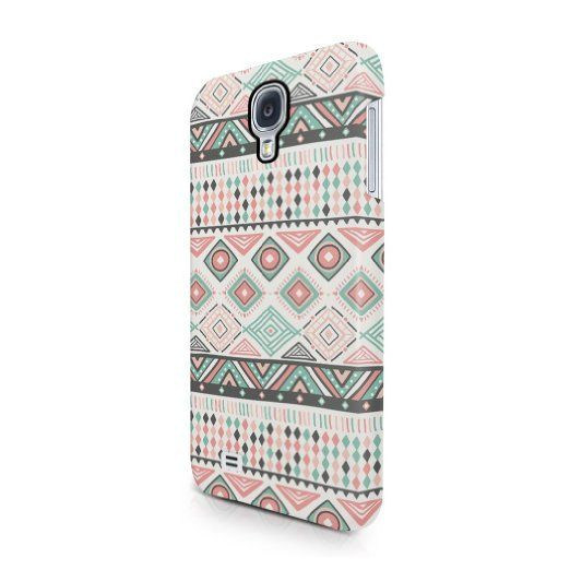 Indie Aztec Tribal Mosaic Rad Boho Hipster Pattern Hard Plastic Samsung Galaxy S4 Phone Case Cover