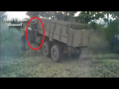 Ukraine War 2014 •Ukrainian Troops Barged Around The Ilovaisky, 15 Septe...