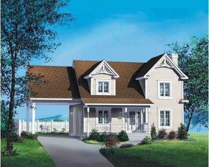 52 best archi maison images on Pinterest House blueprints, House