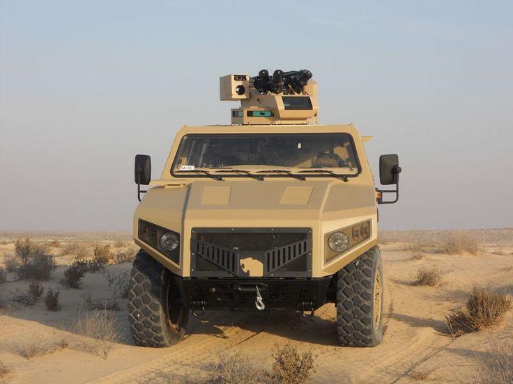 Denel Mechatronics   Denel Vehicle Systems. Missile Stabilised Turret (MST).