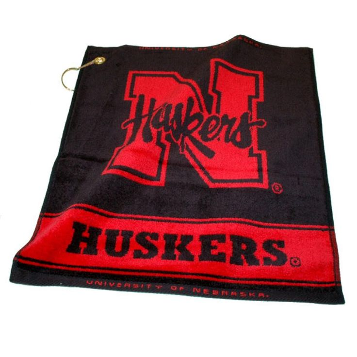 Nebraska Cornhuskers NCAA Woven Golf Towel