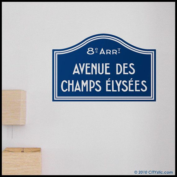 48 Best Images About Paris - City Wall Decals & Stickers On Pinterest