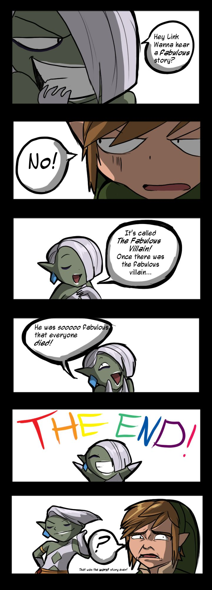 Am I the only one who thinks Ghirahim would do this?  Skyward Sword: The Fabulous Villain by TiuanaRui.deviantart.com