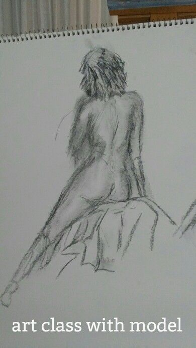First attempt at model drawing