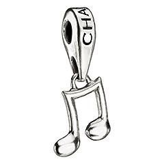 Chamilia Hanging Music Note Bead