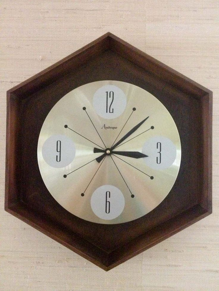 "215 vintage wall clocks & counting! Let's see yours, the famous uploader is ""on"" - Retro Renovation"