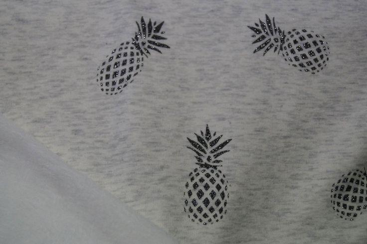 KN17 13928-175 Sparkle sand jogging ananas ecru/grijs gemeleerd