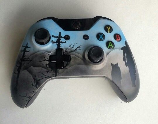 Fallout 4 Xbox One Custom Controller (@GameStyling via Instagram)