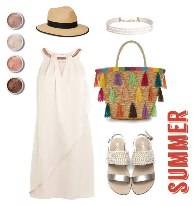 """Comfortably Hot"" by cloverinwinter on Polyvore featuring Christys', Humble Chic, Terre Mère and strawbags"