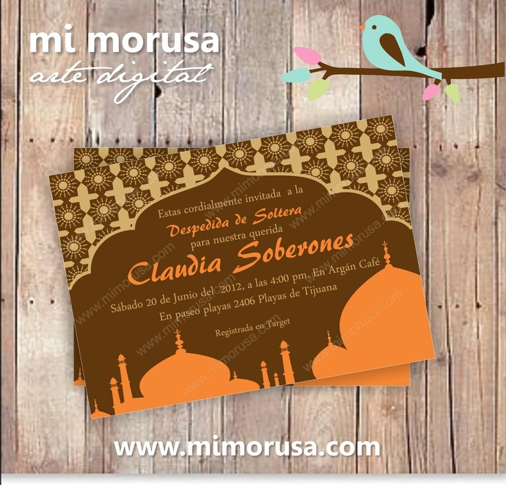 bday party invitation mail%0A Arabian Nights Bridal shower or Birthday Invitation