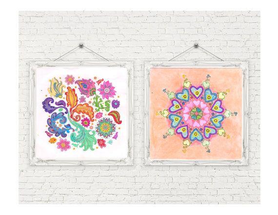 Mandala Design 18  Digital Download by MariaJoseTreasures on Etsy