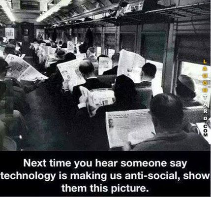 Technology making us Anti Social