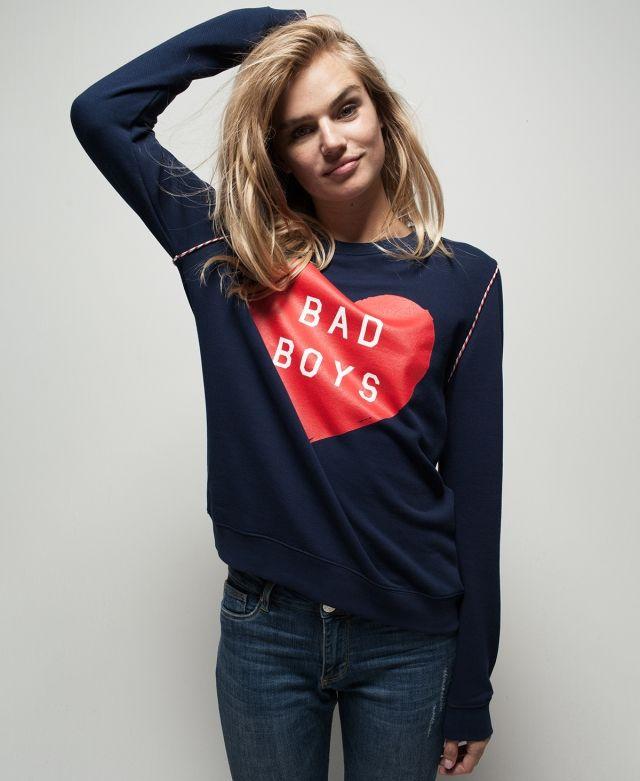 BAD BOYS LOOSE FIT SWEAT | Zoe Karssen
