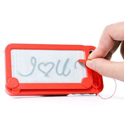 Protect their phone with this amazing Magna-Doodle case. | 22 Unconventional Gifts To Show Someone You Love Them