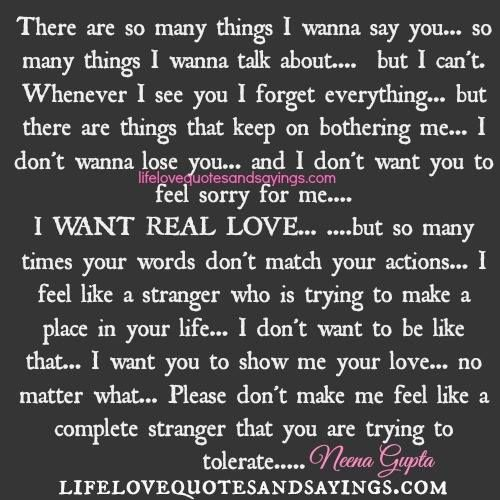 I Don T Want You To Leave Quotes: There Are So Many Things I Wanna Say You… So Many Things I
