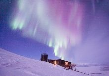 Aurora Sky Station in Abisko, Swedish Lapland :: Aurora polar en Suecia. Espectacular.