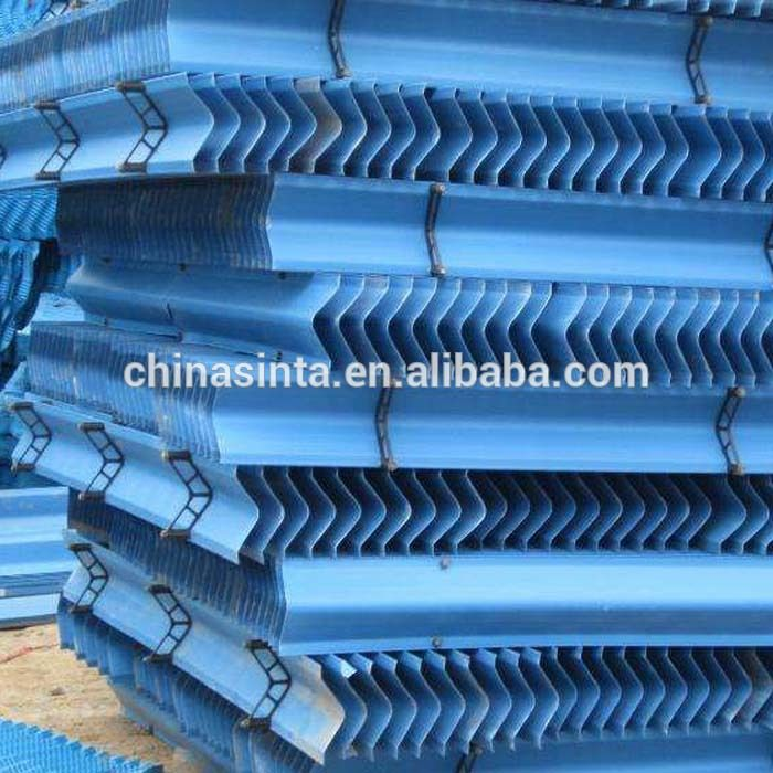 Offset Fluted Cooling Tower Infill Cooling Tower Tower Spare Parts