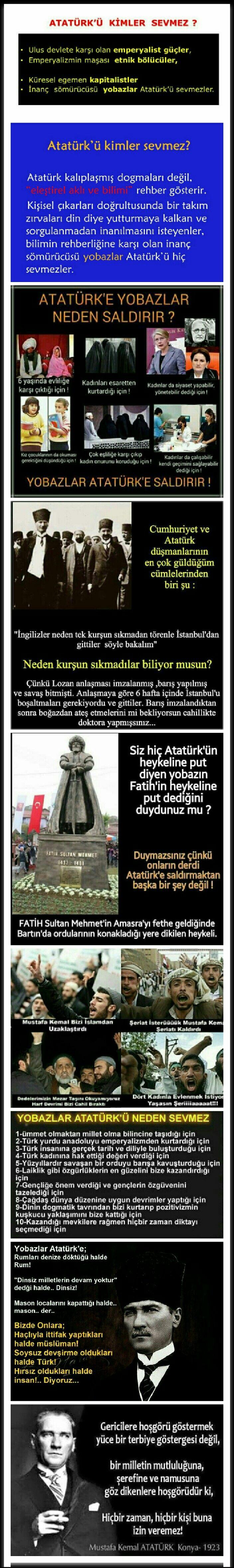 Türkiye Cumhuriyeti düşmanları.