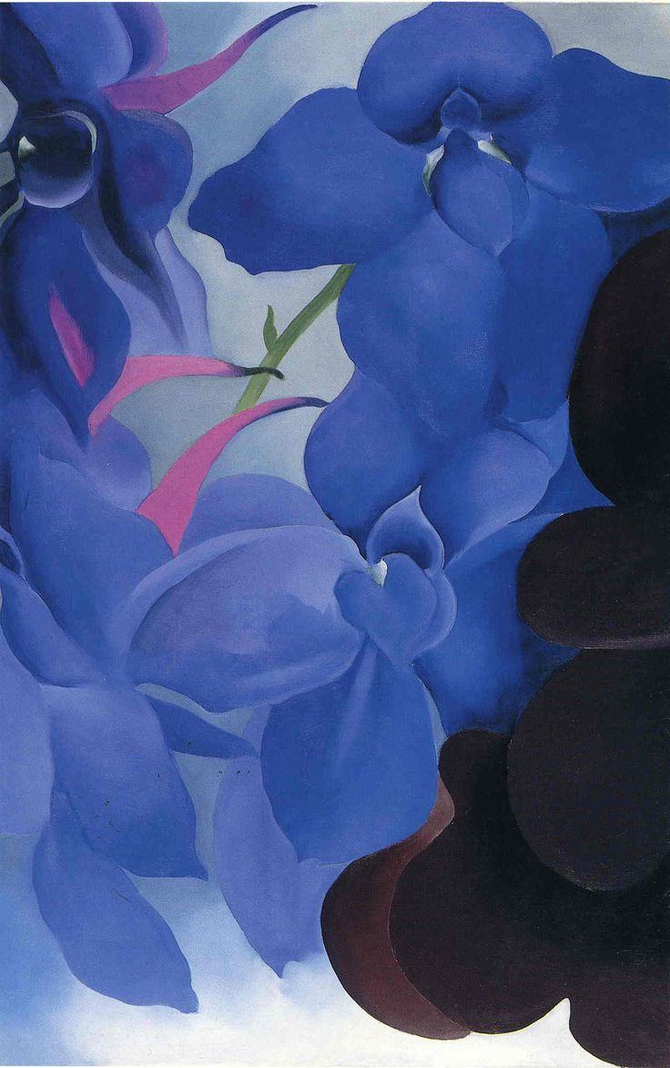 Beautiful Blues! Georgia O'Keeffe