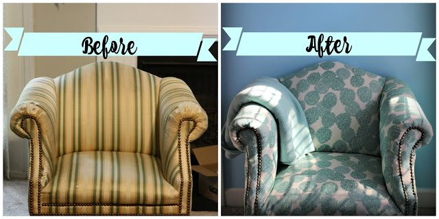 Castle DIY: Furniture Reupholstery 101 (The Lazy Girl Way)