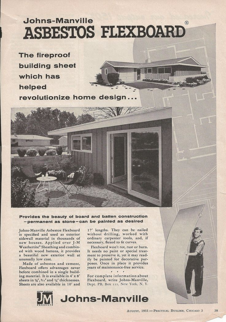 53 Best Images About Vintage Asbestos Advertisements On