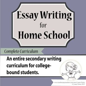 essay writing curriculum Homeschool writing program mastering paragraph and essay writing, grades 1 -6 co-op and family tested for 20 years teaches the entire writing process presented with a high quality film experience great for multi-level teaching sign up or members login.