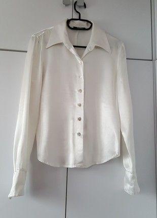 Kup mój przedmiot na #vintedpl http://www.vinted.pl/damska-odziez/koszule/12099291-biala-elegancka-koszula-vb-exclusive