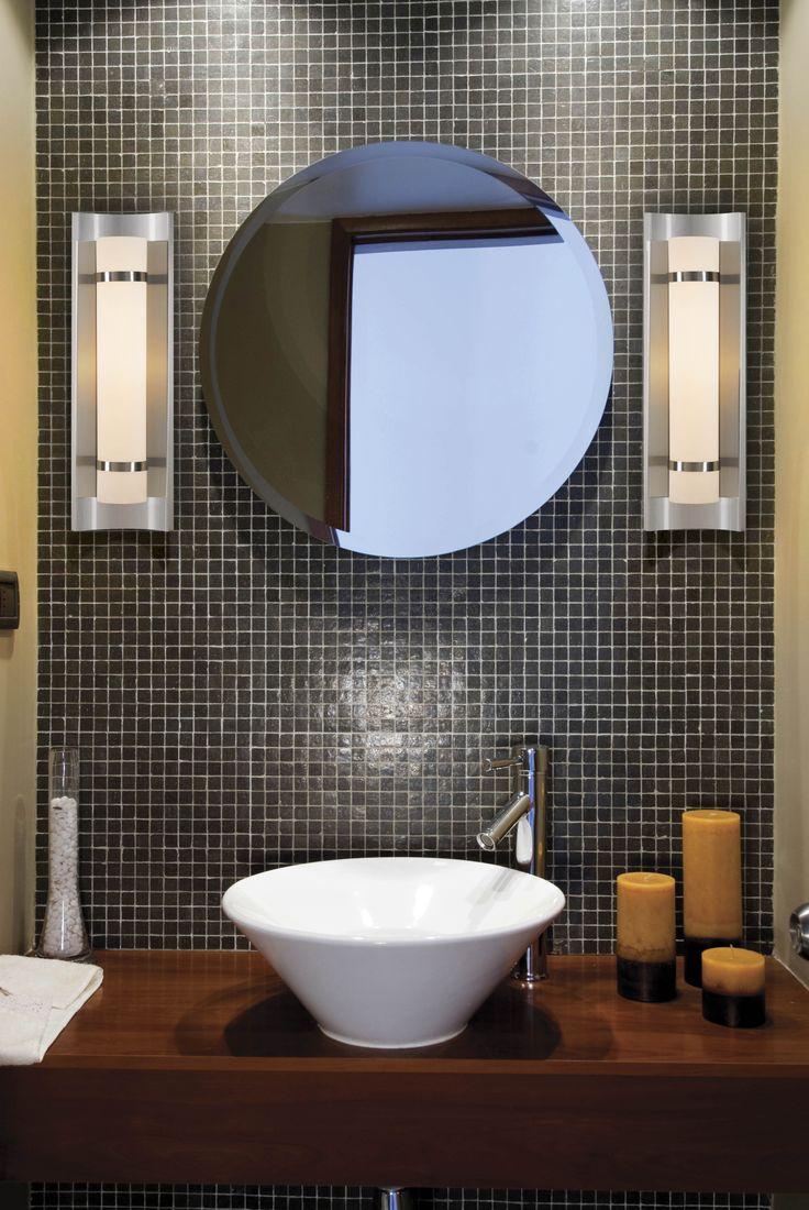 Bathroom Light Fixtures Used 47 best bathroom lighting ideas images on pinterest | bathroom